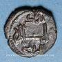 Münzen Italie. Sicile. Les Normands. Guillaume II (1166-1189). Fraction de follaro. Messine