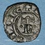 Münzen Italie. Sicile. Les Suèves. Manfred (1258-1266). Denier. Messine