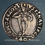 Münzen Italie. Venise. Aloise Mocenigo (1570-1577). 40 soldi avec Sainte-Justine