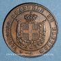 Münzen Italie. Victor Emmanuel II, roi élu (1859-1861). 5 centesimi 1859. Birmingham