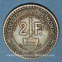 Münzen Monaco. Louis II (1922-1949). 2 francs 1924. Poissy