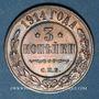 Münzen Russie. Nicolas II (1894-1917). 3 kopecks 1914. Saint Pétersbourg