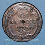 Münzen Vatican. Benoît XIV (1740-1758). 1 baiocco 1740, an I