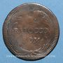 Münzen Vatican. Benoît XIV (1740-1758). 1 baiocco n. d. (1744)