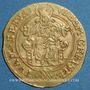 Münzen Alsace. Strasbourg. Municipalité. Florin frappé après 1529