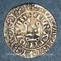 Münzen Charles IV (1322-1328). Maille blanche, 3 émission (24 juillet 1326)