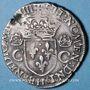Münzen Charles IX (1560-1574). Teston, 1er type. 1564 H. La Rochelle