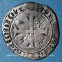 Münzen Charles VI (1380-1422). Blanc guénar à l'O rond, 2e émission (1389). Mâcon