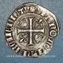Münzen Charles VI (1380-1422). Blanc guénar à l'O rond, 2e émission (1389). Troyes