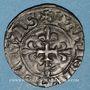Münzen Charles VI (1380-1422). Denier parisis, 2e émission, (11 septembre 1389)