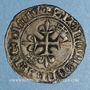 Münzen Charles VI (1380-1422). Monnayage du duc de Bourgogne (1417-1423). Florette. Châlons sur Marne