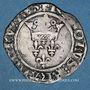 Münzen Charles VI (1380-1422). Monnayage du duc de Bourgogne (1417-1423). Florette. Châlons sur Saône