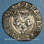 Münzen Charles VI (1380-1422). Monnayage du duc de Bourgogne (1417-1423). Florette. Troyes (annelet 14e)