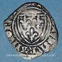 Münzen Charles VI (1380-1422). Monnayage du duc de Bourgogne (1417-23) blanc dit Guénar à l'O rond, Mâcon