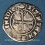 Münzen Charles VIII (1483-1498). Hardi, 3e émission. Bordeaux. Inédit !