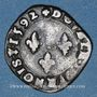 Münzen Charles X, roi de la Ligue (1589-1590). Double tournois 1592S. Troyes