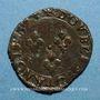 Münzen Charles X, roi de la Ligue (1589-1590). Double tournois 1594 P. Dijon