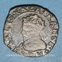 Münzen Charles X, roi de la Ligue (1589-1590). Double tournois 1595P. Dijon