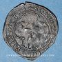 Münzen François I (1515-1547). Double tournois à la croisette. H = La Rochelle