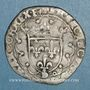 Münzen François I (1515-1547). Douzain à la croisette. Lyon