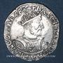 Münzen François I (1515-1547). Teston, 25e type. Lyon (D et annelet 12e)