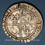 Münzen François I (1515-1547). Teston du Dauphiné. Type inédit. Crémieu (point 1er)