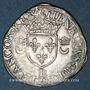 Münzen Henri II (1547-1559). Douzain aux croissants 1550P et point 13e. Dijon