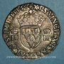 Münzen Henri II (1547-1559). Teston 2e type 1556 I. Limoges
