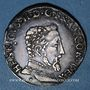 Münzen Henri II (1547-1559). Teston, 2e type, 1557M. Toulouse