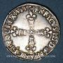 Münzen Henri III (1574-1589). 1/4 d'écu 1583C et point 19e. Saint-Lô