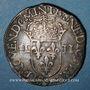 Münzen Henri III (1574-1589). 1/4 écu 1579. Rennes