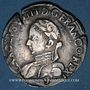 Münzen Henri III (1574-1589). Monnayage au nom de Charles IX. Teston, 1er type, 1575. Rennes. Lég. fautive