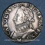 Münzen Henri III (1574-1589). Monnayage au nom de Charles IX. Teston, 8e type, 1575M et point 5e. Toulouse
