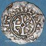 Münzen Hugues Capet (987-996). Denier frappé à Beauvais avec l'Evêque Hervé (987-998)