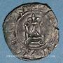 Münzen Jean II le Bon (1350-1364). Denier tournois, type inédit