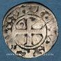 Münzen Louis VI (1108-1137). Denier, 4e type, Pontoise