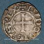 Münzen Louis VIII (1223-1226) ou Louis IX (1226-1270). Denier tournois