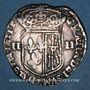 Münzen Louis XIII (1610-1643). 1/4 d'écu de Navarre 1621F. Saint-Palais