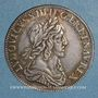 Münzen Louis XIII (1610-1643). 15 sols, 2e poinçon de Warin 1642A. Rose
