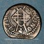 Münzen Louis XIII (1610-1643). Comté de Barcelone. Sizain, 1er type, 1642. Barcelone