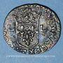 Münzen Louis XIII (1610-1643). Douzain illégal émis par les Huguenots 162(...) (2 rétrograde)