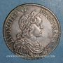 Münzen Louis XIV (1643-1715). 1/2 écu à la mèche courte 1644A. Point