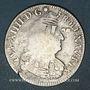 Münzen Louis XIV (1643-1715). 1/2 écu aux palmes 1694S. Troyes. Réformation