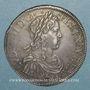 Münzen Louis XIV (1643-1715). Ecu à la mèche longue 1652S. Troyes