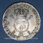 Münzen Louis XIV (1643-1715). Monnayage de Strasbourg. 34 sols 6 deniers aux insignes 1702BB. Réformation