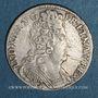 Münzen Louis XIV (1643-1715). Monnayage particulier de Strasbourg. 11 sols 1711 BB
