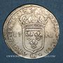 Münzen Louis XIV (1643-1715). Monnayage particulier de Strasbourg. 22 sols 1710BB
