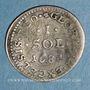 Münzen Louis XIV (1643-1715). Monnayage particulier de Strasbourg. I sol de Strasbourg 1684