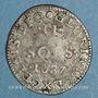 Münzen Louis XIV (1643-1715). Monnayage particulier de Strasbourg. II sols de Strasbourg 1687