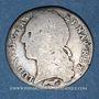 Münzen Louis XV (1715-1774). 1/10 écu au bandeau 1766R. Orléans